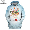 PLstar Cosmos 2019 New Fashion Men hoodies 3D Merry Christmas Full-Print T-shirt - Hoodie Apparel Unisex Hoody streetwear SH587
