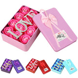 LOVE 12 Soap Rose Valentine\'s Day Gift Box Home Garden Festive Party Supplies Artificial Decorations Excellent Material
