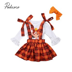 New Thanksgiving Days Infant Baby Clothes 2 Pcs