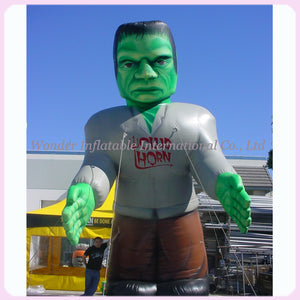 Horroring giant 16ft halloween decoration inflatable frankenstein