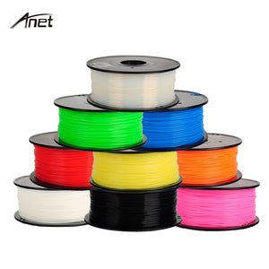 ABS 1.75mm 1Kg/spool Consumables Material Refills for MakerBot/RepRap/UP/Mendel 3D Printer Filaments