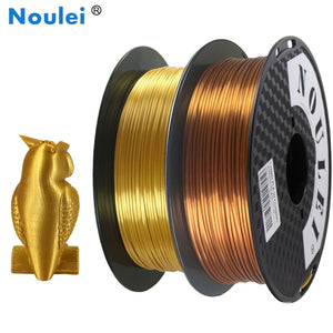 3D Printer Filament Silk Texture Feeling Gold 1kg Silky Rich Luster PLA Copper Golden Silver 3d Printing Materials