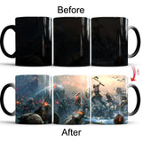 God of War 4 Creative Color Change Mug