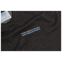 Load image into Gallery viewer, Slogan Crewneck - Charcoal