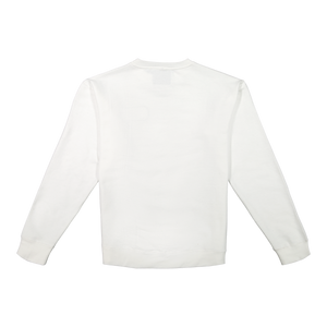 Comment Bubble Crewneck - White