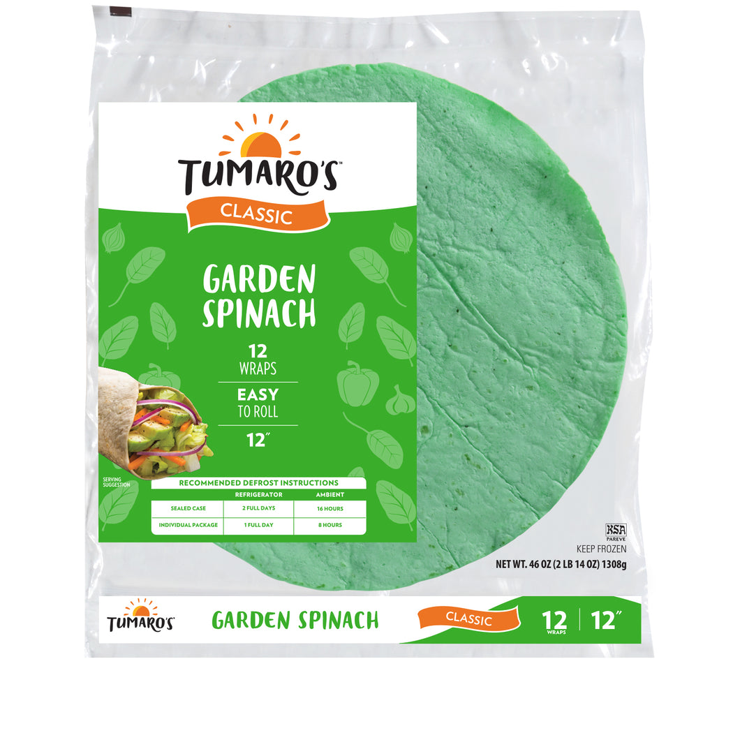 Garden Vegetable Wrap