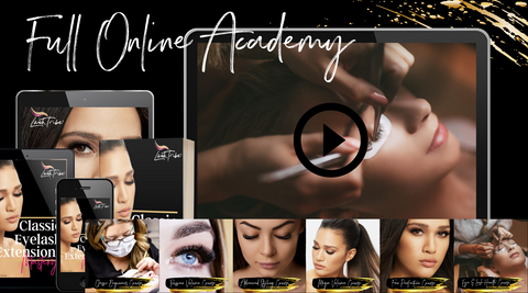 eyelash extensions online course