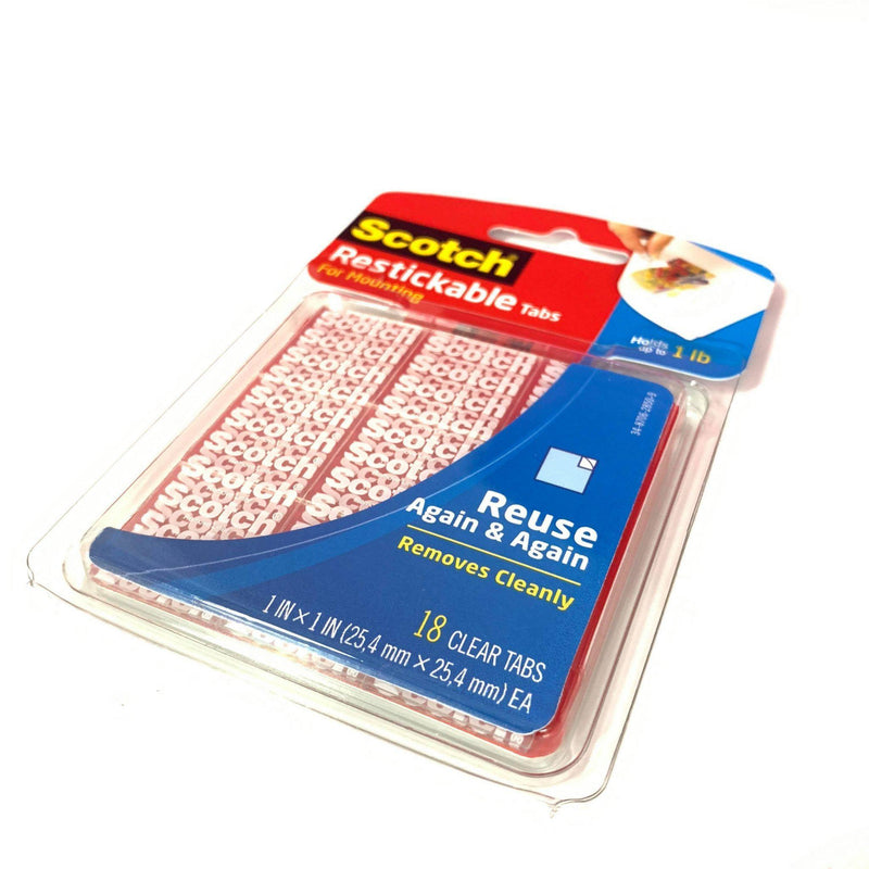 Scotch Clear Mounting Squares-Lash Tribe