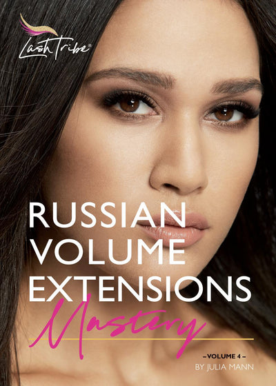 Russian Volume Eyelash Extensions Manual  (E-book)