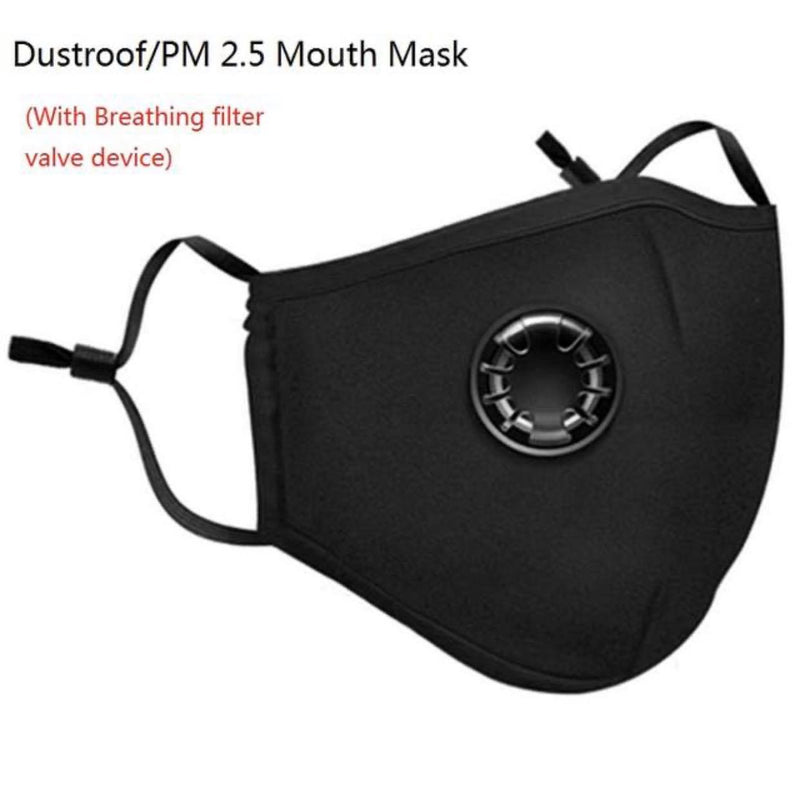 Reusable Carbon Filter Mask & Carbon Filters