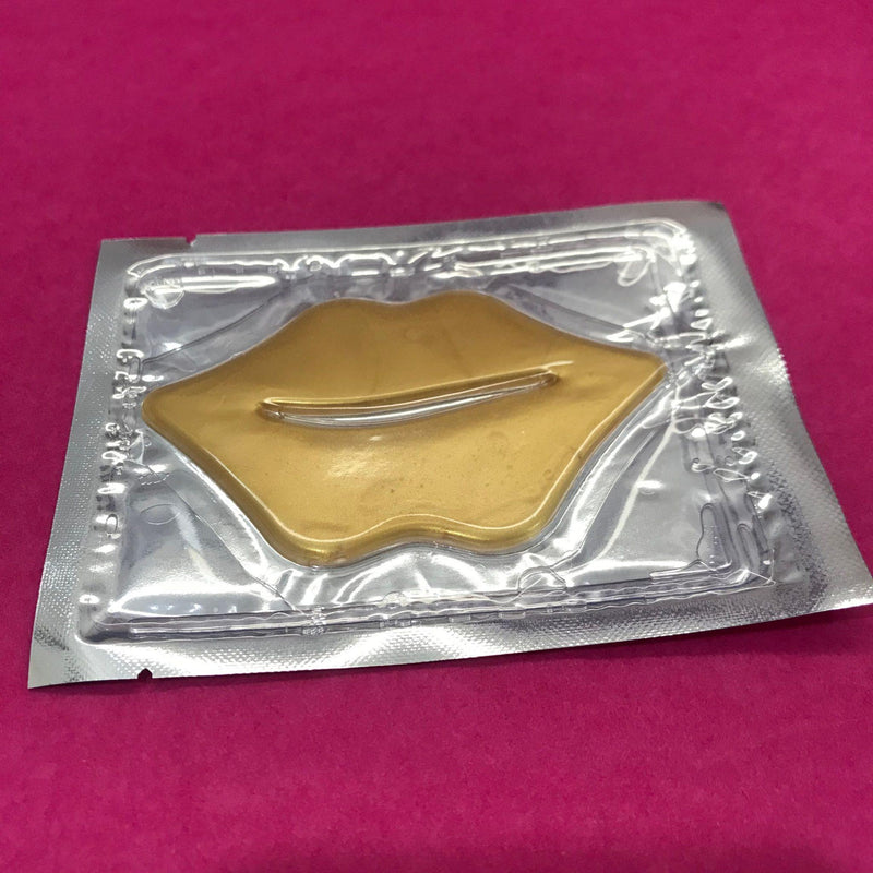 Gold Collagen Lip Masks-Lash Tribe