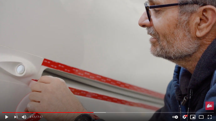 How to Change your Mylar Slot Gasket with 3M Tape