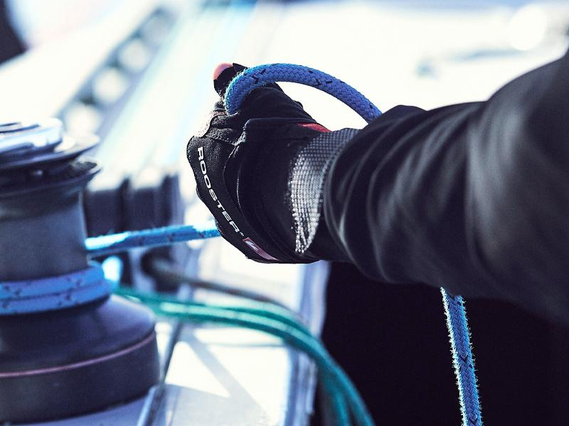 Rooster Sailing Gloves with rope