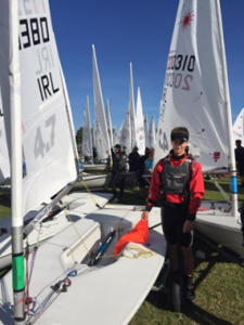 First Day at the Laser 4.7 World Championships