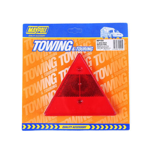 Trailer Lighting Board Triangle Reflector (pair)