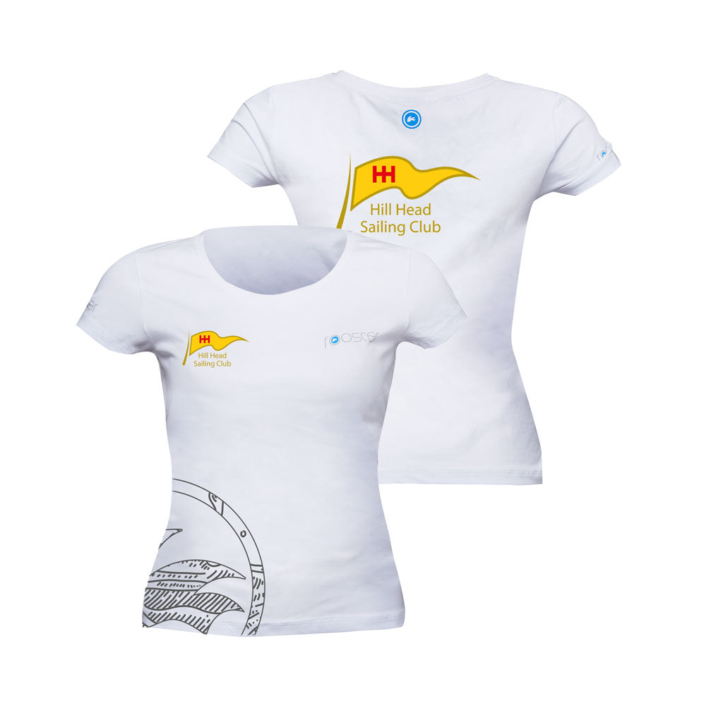 Womens Graphic/Team T-Shirt - (Hill Head Sailing Club Customised)