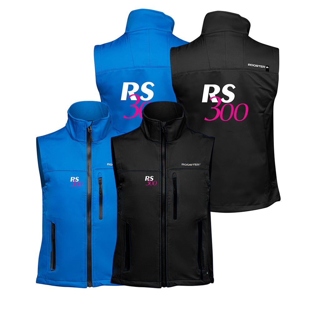 Soft Shell Gilet - (RS300 Customised)