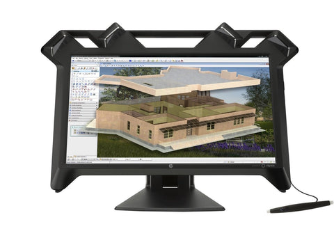 "HP K5H59A8 23.6"" 16:9 Virtual Reality LCD Monitor w/ Stylus"