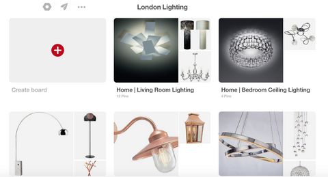 London Lighting on Pinterest