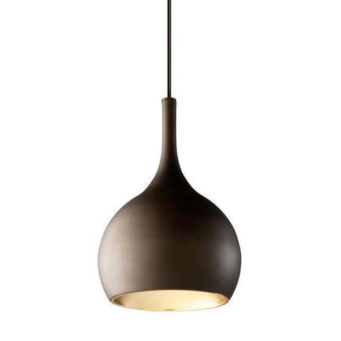 Brown and Copper Single Nordic Style Pendant - ID 7550
