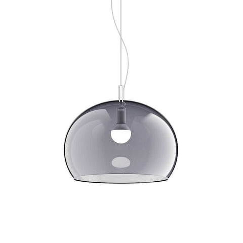 Guzzini Zurigo 1966 Medium Pendant Lamp In Transparent Smoked - ID 8548