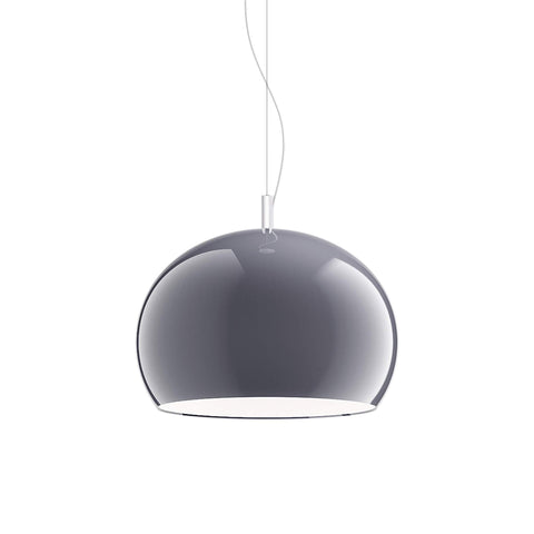 Guzzini Zurigo 1966 Large Pendant Lamp In Smoked - ID 8568