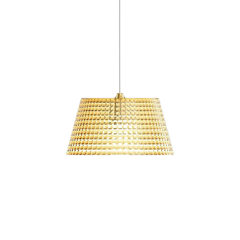 Guzzini Tiffany Large Pendant Lamp In Amber - ID 8539