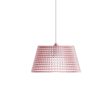 Guzzini Tiffany Large Pendant Lamp In Pink - ID 8541