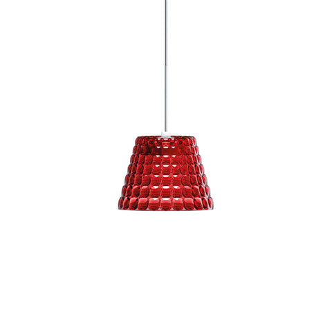 Guzzini Tiffany Small Pendant Lamp In Red - ID 8531