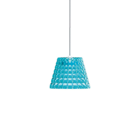 Guzzini Tiffany Small Pendant Lamp In Blue - ID 8530