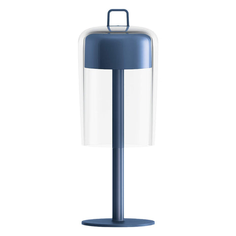 Guzzini Soiree Cordless Table Lamp In Blue - ID 8504