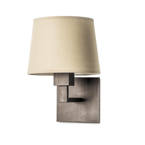 Bromley Contemporary Wall Light In Bronze - ID 5276