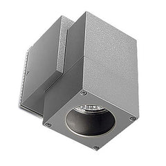 Grey Exterior Single Wall Spotlight - ID 252