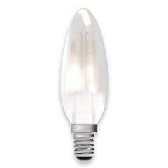 Opal Candle Lamp Warm White 4W LED E14 - ID 9775