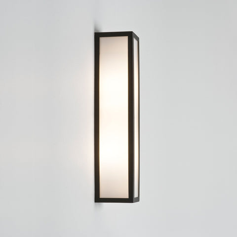 Salerno Black Outdoor Wall Light - London Lighting - 1