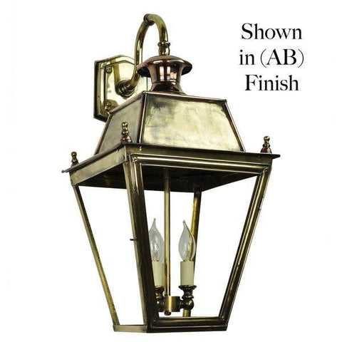 Classic Reproductions Balmoral Overhead Wall Light (Large) 3 Light - London Lighting - 1