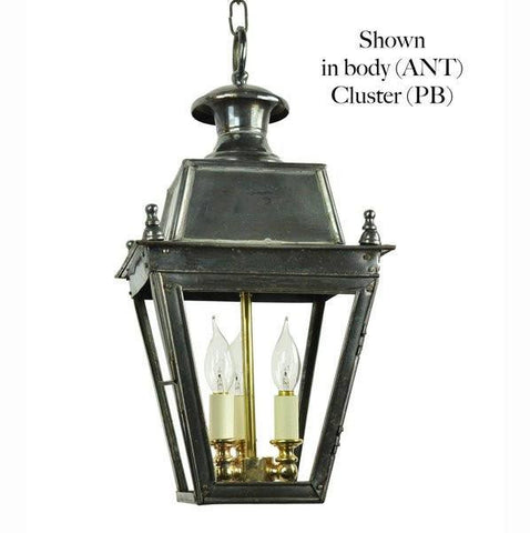 Classic Reproductions Balmoral Hanging Lantern (Small) with 3 Light cluster - London Lighting - 1