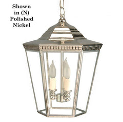 Classic Reproductions Chelsea 3 light Pendant (Large) - London Lighting - 1