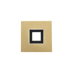 Grossmann Karree 51-783-446 Matt Brass With Black Matt Inner - ID 9726 - DISCONTINUED