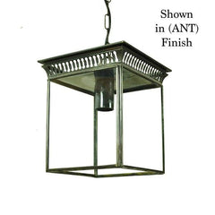 Classic Reproductions Belgravia Hanging Lantern (Small) - London Lighting - 1