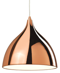 Cafe Copper Single Pendant - London Lighting
