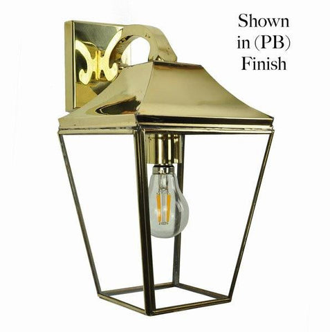 Classic Reproductions Knightsbridge Overhead Arm Lantern - London Lighting - 1