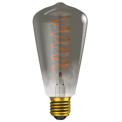 Gunmetal Loop Filament Lamp Warm White 4W LED E27 - ID 9699