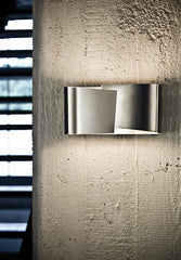 Filia S Wall Sconce in Stainless Steel