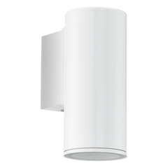 Brunswick White Outdoor Down Wall Light - ID 8429