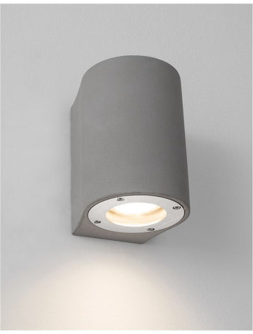 LID Grey Concrete Outdoor Down Light - ID 10860