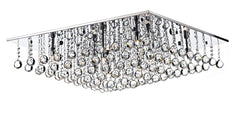 Abacus Chrome 8 Lamp Ceiling Light - London Lighting - 1