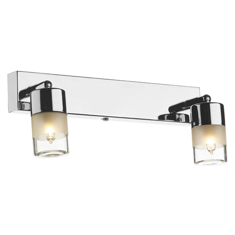 Artemis Polished Chrome 2 Light Wall Light - London Lighting - 1