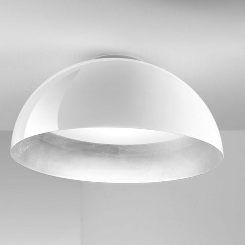 Amalfi 35cm Flush Dome Ceiling Light