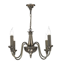 Bailey Bronze 4 Lamp Chandelier - London Lighting - 1